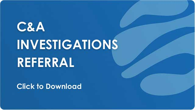 C&A Investigation Referral - Download