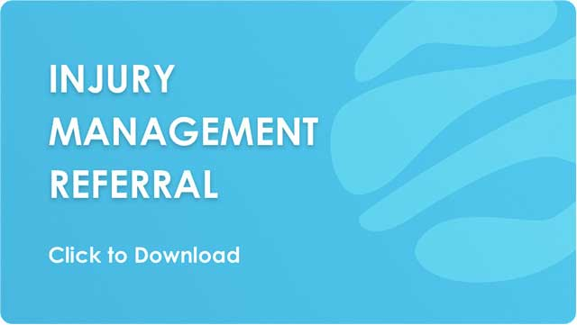 Injury Management Referral - Download